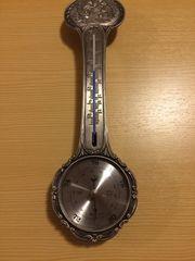 Barometer Thermometer aus Zinn