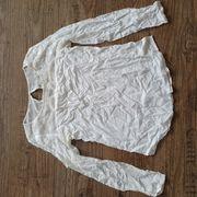 Bluse Top Shirt creme Gr