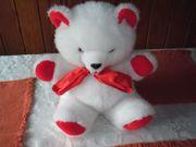 Plüschtier weißer Bär