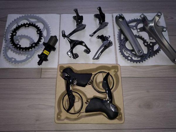 Rennrad Teile neu gebraucht Paketpreis