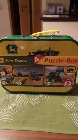 Sonstiges Kinderspielzeug - Puzzle Box John Deere