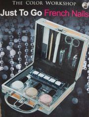 Nagelset Manikürset French Nails Köfferchen