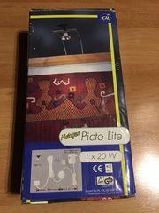 Picto-Lite 20 Watt Halogen Bildbeleuchtung