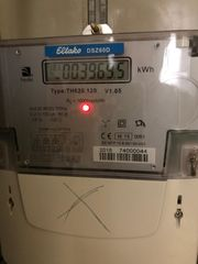Stromzähler digital