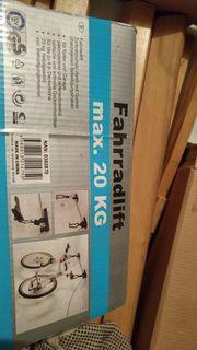 Fahrradlift bis 20kg - nie verwendet