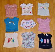 T-Shirts Hosenrock Mädchen Gr 80 -