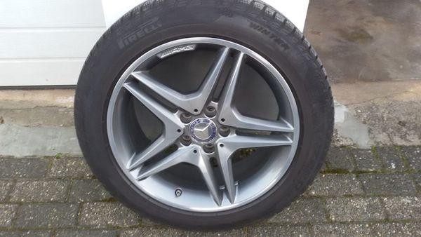 18 Zoll-AMG-Winter-Alufelgen für Mercedes GLA