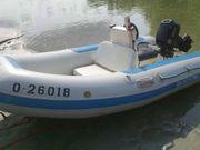 Festrumpfschlauchboot Motorboot Quicksilver