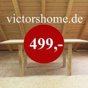 Esstisch Küchentisch Naturholz verlängerbar B