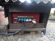 Generator gebraucht Drehstrom und 220V