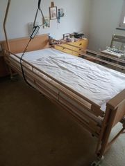 Pflegebett Krankenbett Bett