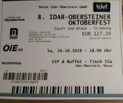 Oktoberfest Idar-Oberstein 26 10 19