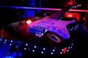 LED beleuchtete E Gitarre Einzelstück