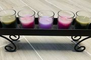 Kerzenständer mit 5 Kerzen
