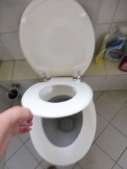 Kinder WC-Sitz mit Absenkautomatik