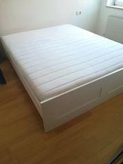 Verkaufe Bett inkl Lattenrost Matratze