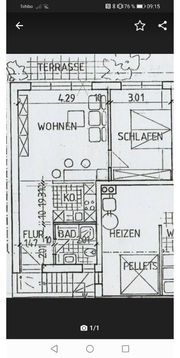 2-Zimmerwohnung in Bretten Sprantal