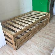 Kinderbett mit 2 Schlafgelegenheit in