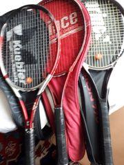 Tennisschläger prince und Kübler