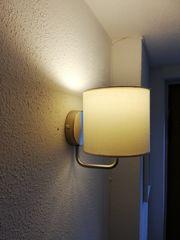 Verkaufe weiße Wandlampen