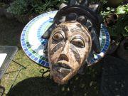 sehr große antike afrikanische Maske