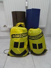 2 Isomatte 2 Schlafsack