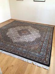 Handgeknüpfter Teppich abzugeben 2 50