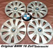 4 x Original BMW Radkappen
