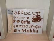 Kaffee Wanddeko Wandsticker 70 x