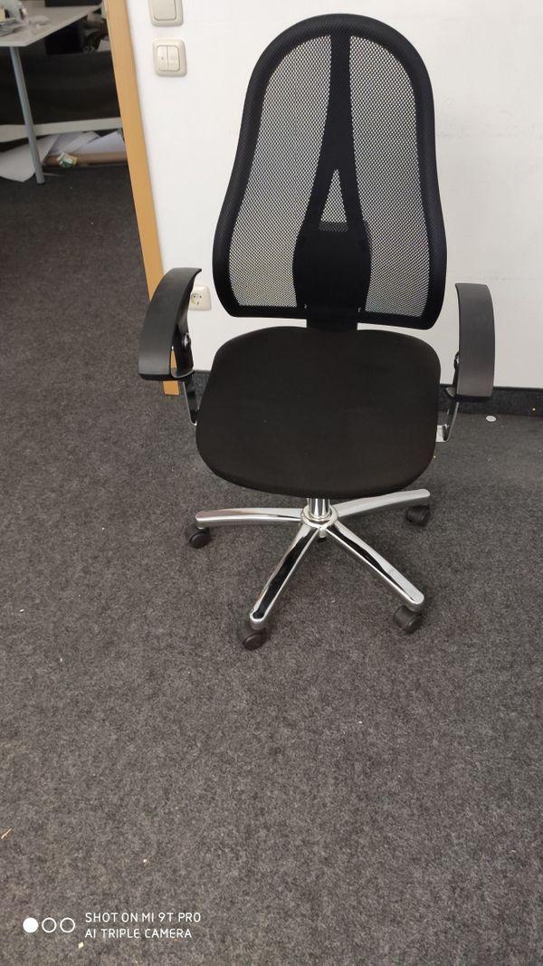 Schreibttischstühle schwarz