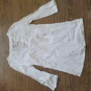 Shirt Top Bluse weiss mit