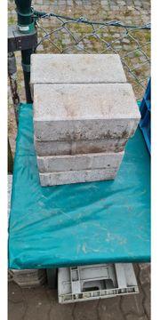 8 graue Steine 10x20x6cm verschenken