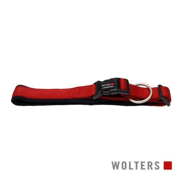 WOLTERS Professional Comfort Hundehalsband Rot