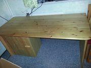 Massiv Holz Schreib Tisch Unikat