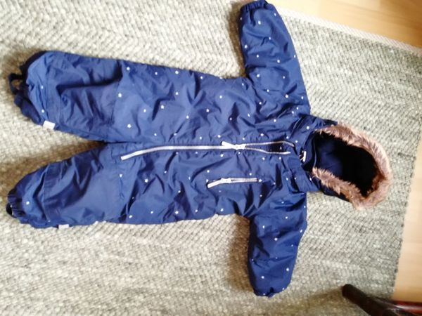 Winter- Schneeoverall Gr 80 dunkelblau