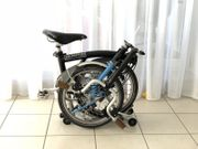 Brompton Faltrad M6L Baujahr 2008