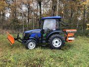 Winterdienst Aktion Traktor Lovol M504