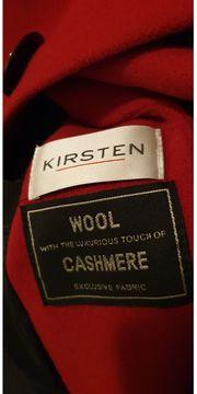 Damen mantel rot von Kirsten
