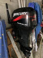 Mercury 40cv Barre Franche Pinne