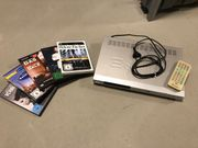 dvd Player plus 5 dvds