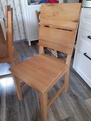 Esstisch mit Stühlen und Sitzbank