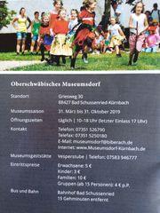 1 Familien-Freikarte für das Oberschwäbische