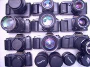 Canon Spiegelreflexkameras T80 - 2 x T70