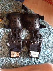 Longboard Handschuhe XS und Knieschoner