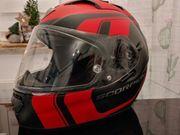 Motorrad Bekleidung Herren Leder Helm