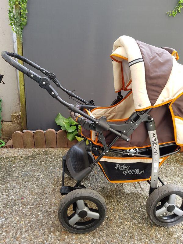Kombi-Sport-Kinderwagen