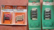 7 Einbohrbänder für Möbeltüren Metall