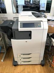 HP Farblaserdrucker CM4730 MFP