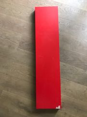Ikea Regalbrett rot