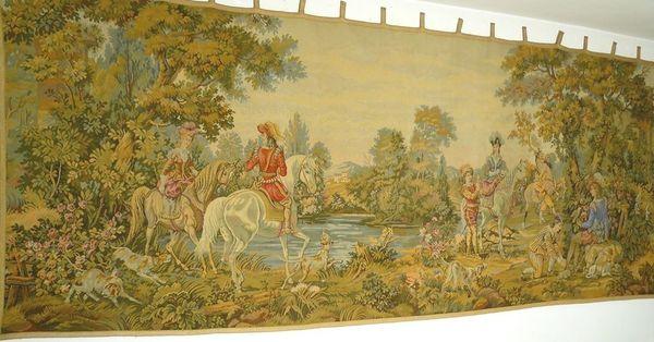 Gobelin Bildteppich monumental 345x135 G049